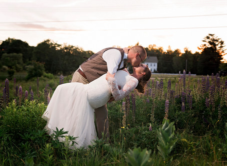 Coolidge Family Farm Wedding: E + N