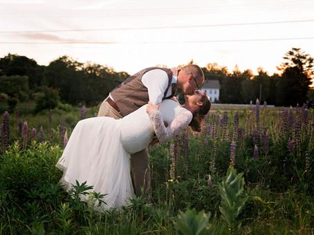 Coolidge Family Farm Wedding: E + N