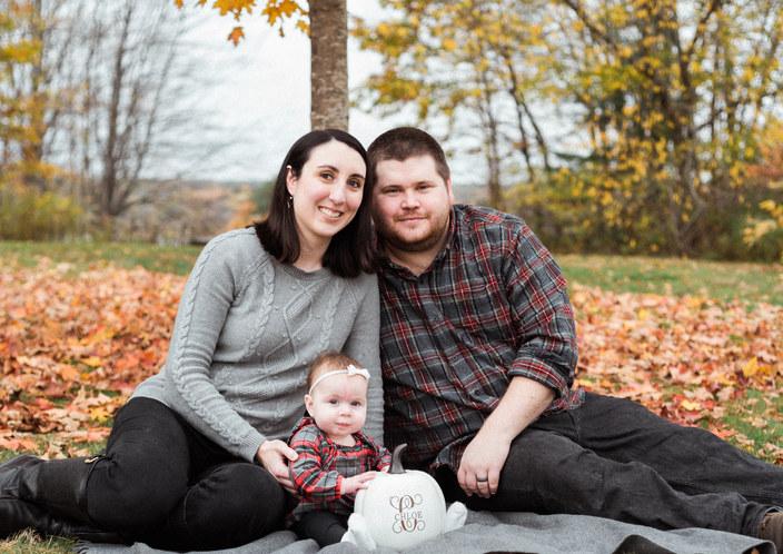 Fall Family Photo Maine