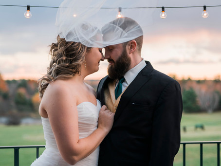 Bougie Wedding: Paige and Chris in Southern Maine