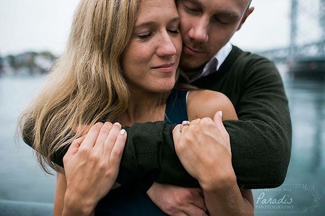 romantic engagement session in portsmouth new hampshire by maine wedding photographer paradis photography