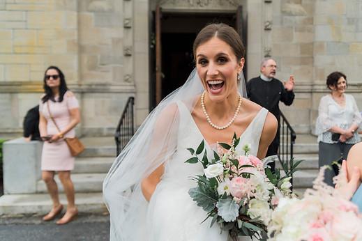 St. Joseph's Church Bride