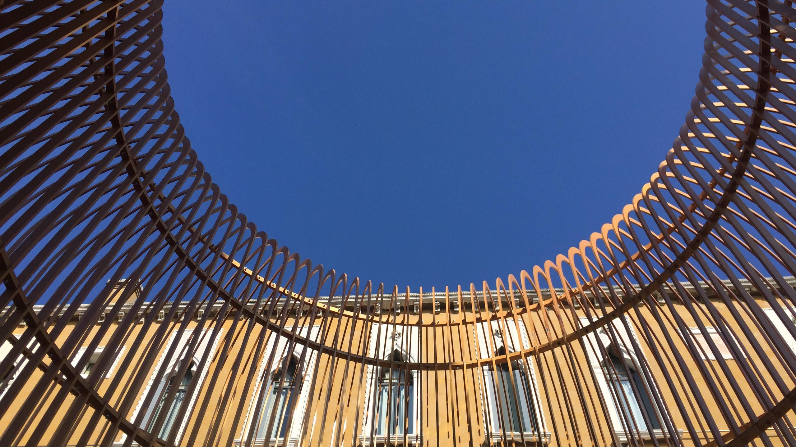 Ai Weiwei, Gilded Cage, Palazzo Franchetti