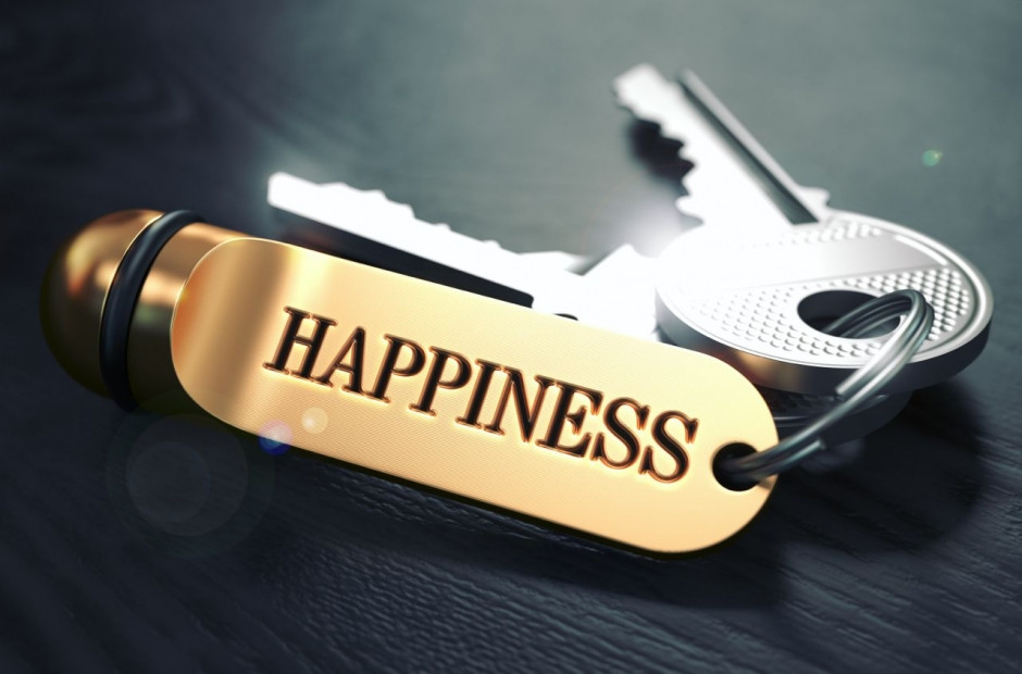 Finding Happiness; Key to Happiness