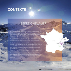 Serre-Chevalier, Domaine skiable