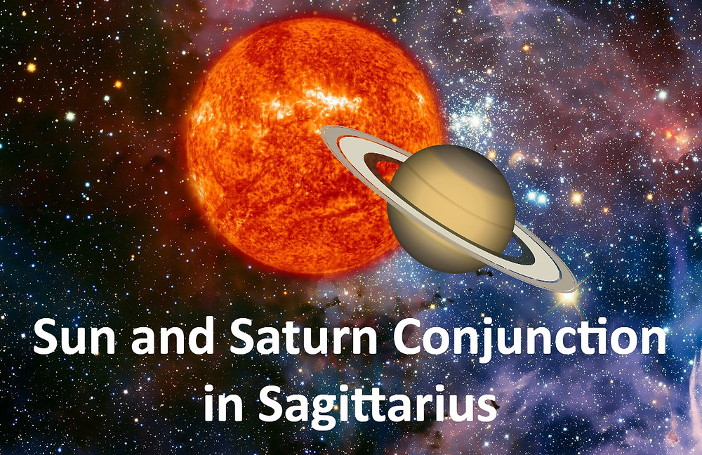 Sun and Saturn Conjunction