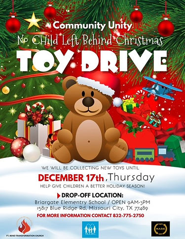 No Child Left Behind Toy Drive