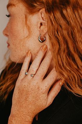 Silver Ellie Earring
