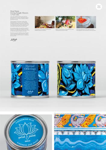 Petal Paint - Blue