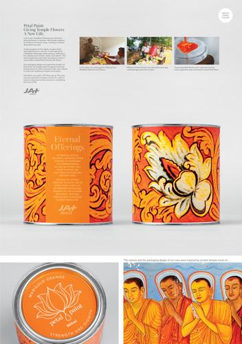 Petal Paint - Orange