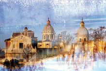 BAPTISME IN THE TEVERE - ROME 2008