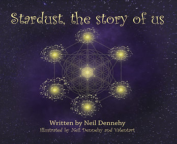 Stardust the Story of Us inspirational illustrated poem