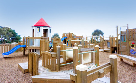 Only a few years old, the foreshores adventure playground is the best spot to let the little explore there adventures spirit.
