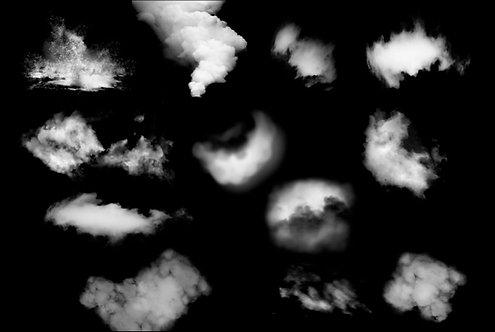 Brochas digitales: Nubes