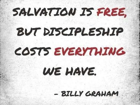 Discipline to Be a Disciple