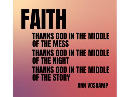 Faith Is Grateful