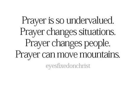 Value of Prayer