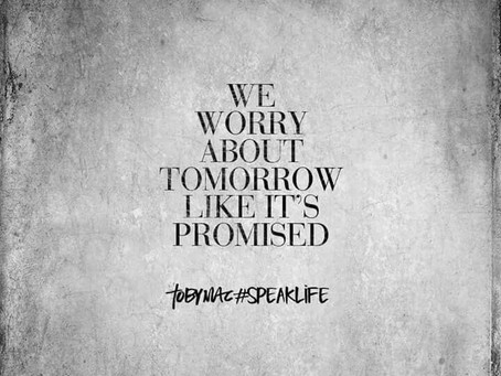 Worrying? Planning?