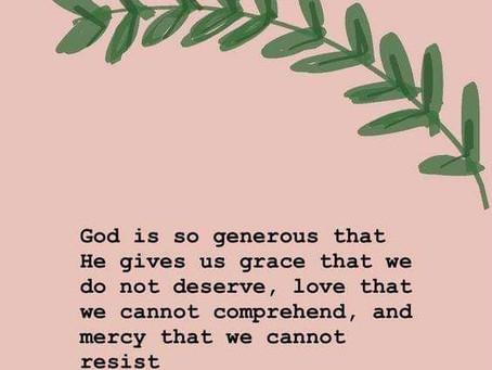 Grace, Love & Mercy
