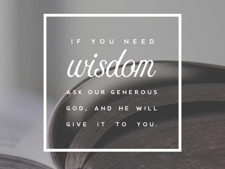 I Need Wisdom