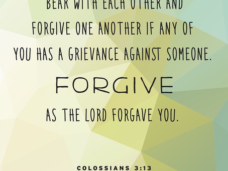 Patience and Forgiveness