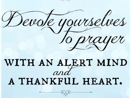 Prayer Time?