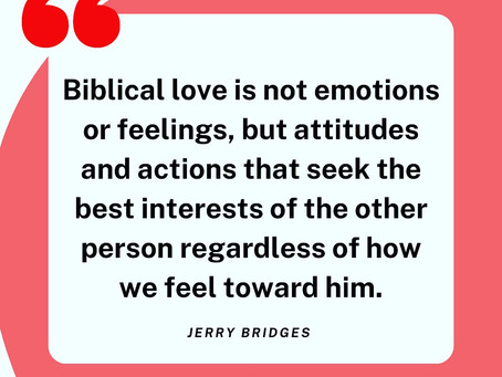 Love Isn't Optional