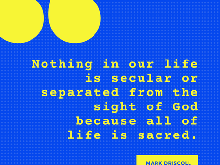 Your Life is Sacred