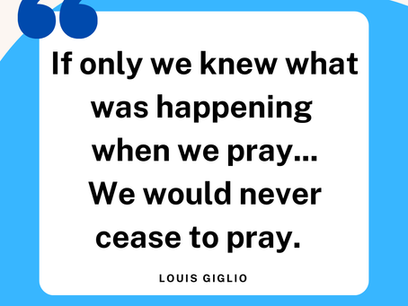 Joy & Prayer
