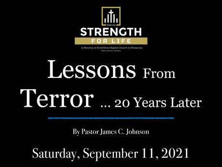Lessons From Terror ... 20 Yrs Later