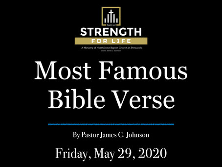 Most Famous Bible Verse