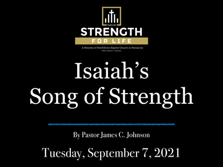 Isaiah's Song of Strength