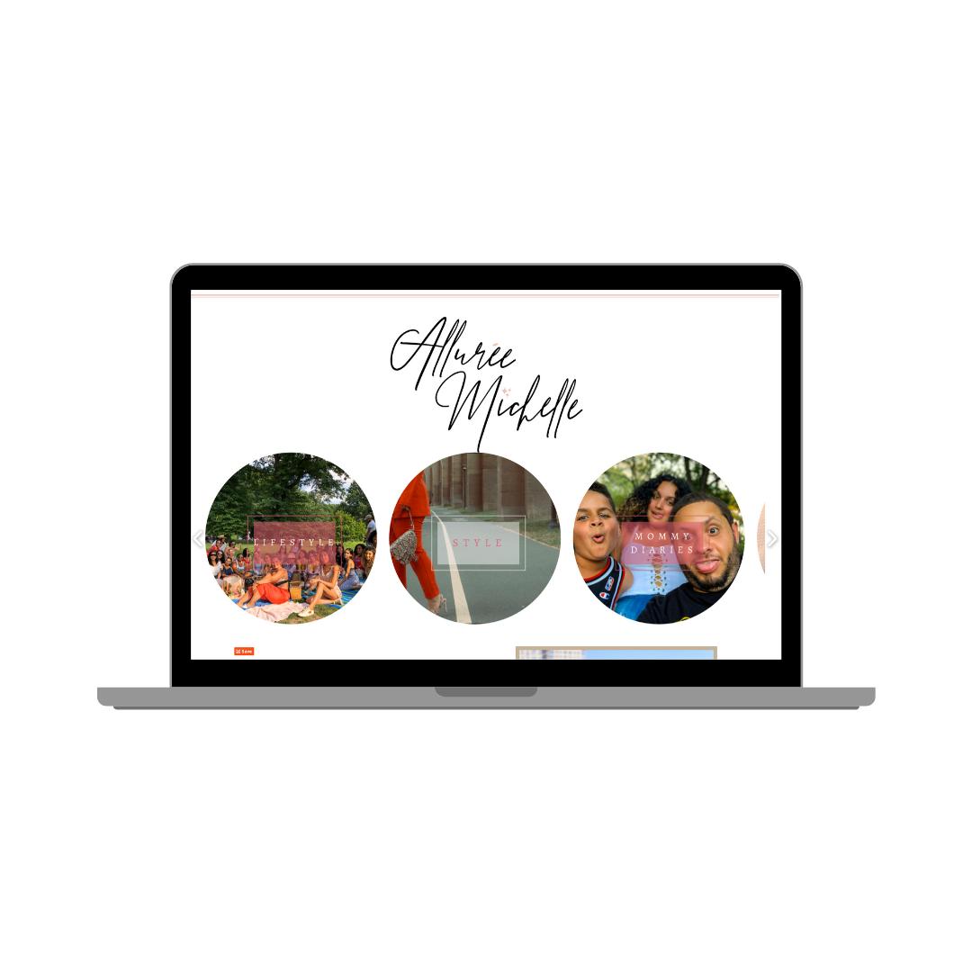 Alluree Michelle Website