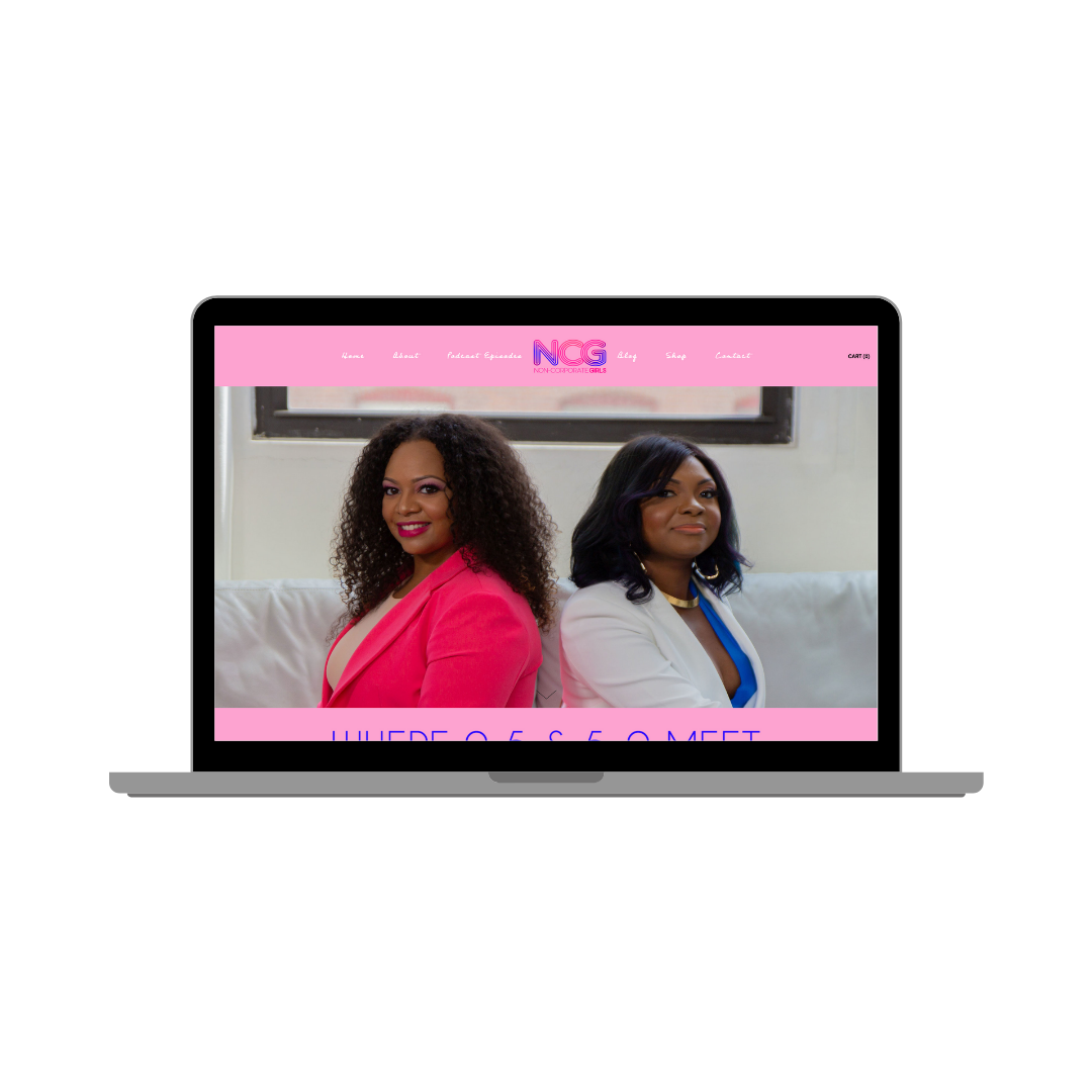 Non Corporate Girls Website