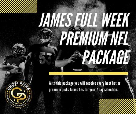 James Full Week NFL Package
