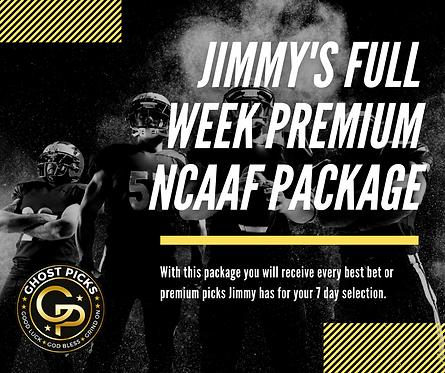 Jimmy's NCAAF Week Package
