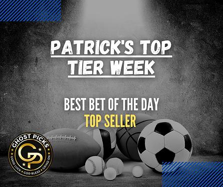 Patrick's Top Tier Week