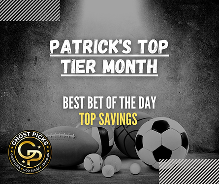 Patrick's Top Tier Month
