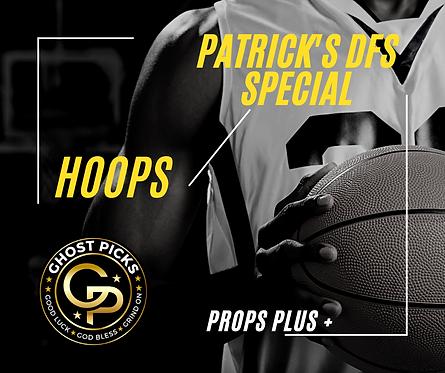 Patrick's NBA DFS Special