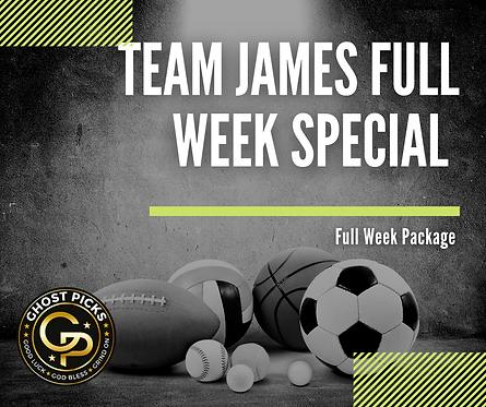 James Full Week Promo