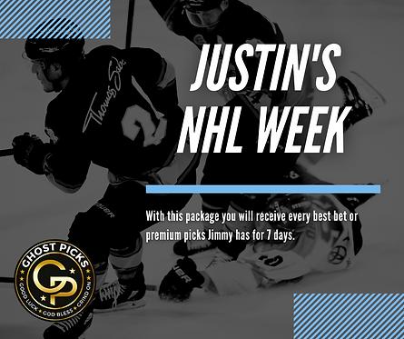 Justin's NHL Week Package