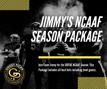 Jimmy's NCAAF Season Special