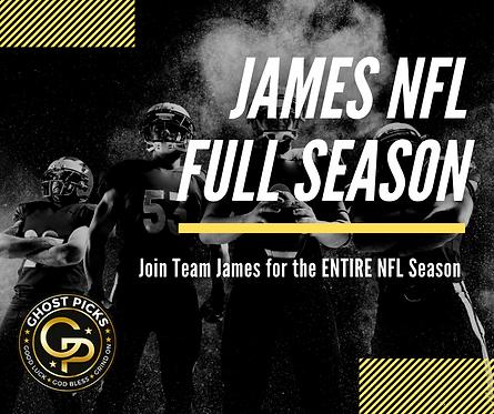 James NFL Season