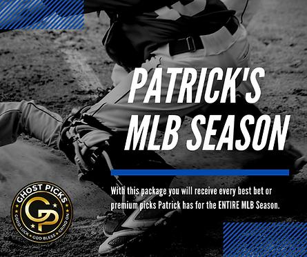Patrick's MLB Season
