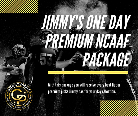 Jimmy's NCAAF Day Package