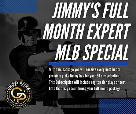 Jimmy's MLB Month