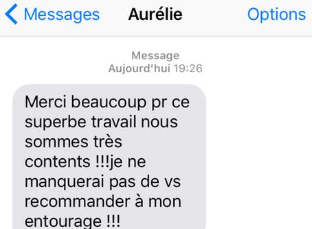 Avis Clients | Message SMS