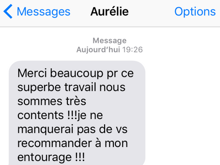 Avis Clients | Message SMS