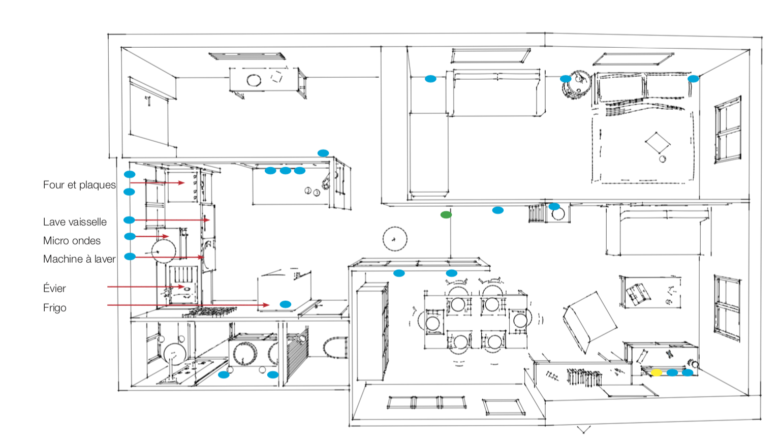 Plans PC et RJ45
