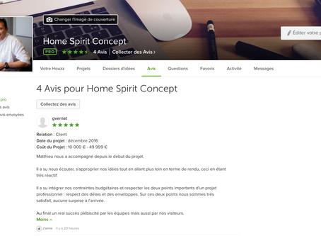 Avis Clients | Via la plateforme Houzz